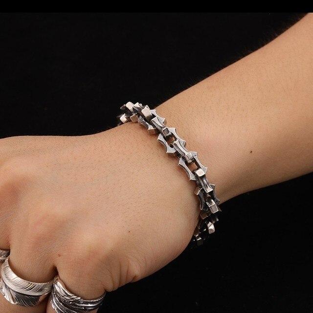 Bracelet argent luxe Viking  6