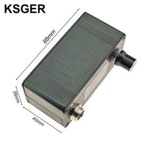Image 3 - KSGER T12 Soldering Station Mini STM32 V2.1S DIY OLED Controller FX9501 Handle Aluminum Alloy Case T12 Iron Tips Stainless Steel