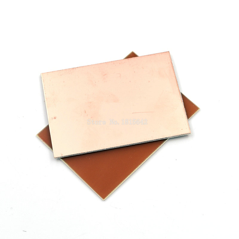 Single-sided Pcb 5pcs Fr4 Pcb 7x10cm 7*10 Single Side Copper Clad Plate Diy Pcb Kit Laminate Circuit Board Cheapest Price From Our Site