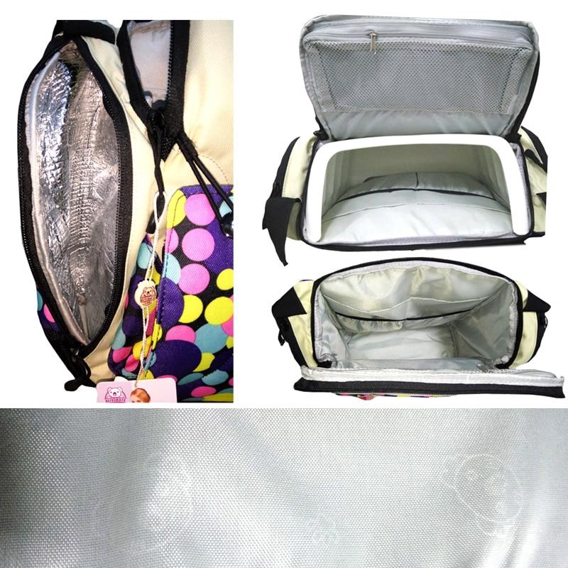 Blöja Väska Baby Matstol Booster Seat Bärbarnstolar - Babymöbler - Foto 6