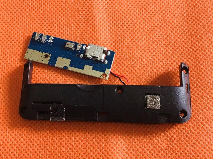 Verwendet Original USB Stecker Lade Board + MIC + lautsprecher Für BLUBOO S3 MTK6750T Octa Core Kostenloser Versand