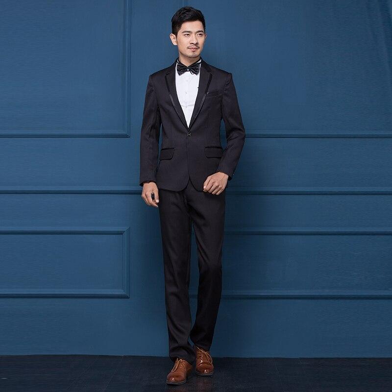 Best men suits male casual suit studio shot PLUZ size S-5XL show costumes young host man suit