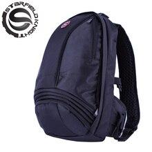 ¿ Cómo-sí al por mayor 2016 negro bolsa mochila bolsa mochila impermeable reflectante casco de moto de motocross motociclismo mochila