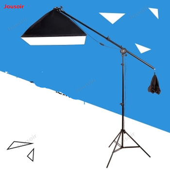 Photographic soft light box set shed table single lamp head photo shooting fill lamp prop still Life CD50 T03