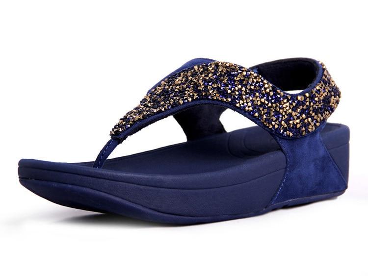 80ab7cdda1fd Womens Platform Beach Flip Flops Sandals Famous Fashion Designer Casual  Beach Sandals Rock Slippers New Arrival Free Shipping