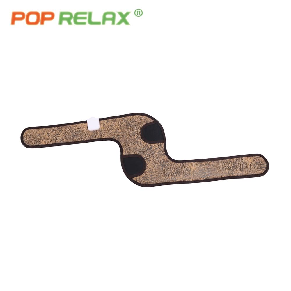 POP RELAX elektrisk germanium keramisk knäskydd smärtlindring - Sjukvård - Foto 4