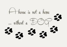 Pet Shop Vinyl Wall Decal Dog Quote Paw Prints Pet Home Interior Lettering Mural Wall Sticker Pet Salon Room Home Decoration