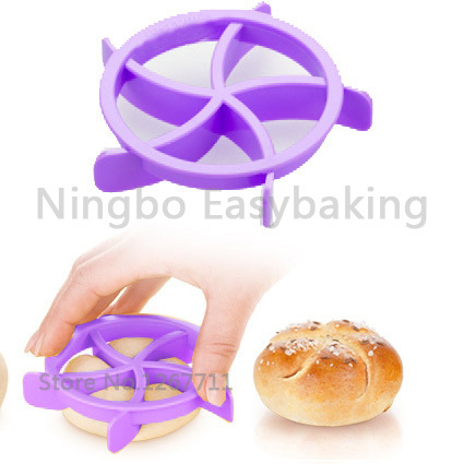 Delicious Homemade Bread Rolls Mold for Bread Kaiser Line Mould Kitchen Pastry Baking Tools image