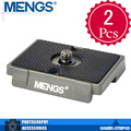 MENGS 2Pcs per pack 200PL 1/4 Inch Mounting Screw Camera Quick Release Plate For Video Camera DSLR(14010003801)