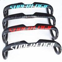 Superlogic Road Bicycle UD Full Carbon Fiber Handlebar Carbon Handlebar 31 8 400 420 440mm Bike