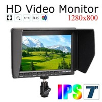 Feelworld FW759 Kit 7 1280x800 HD IPS Panel LCD DSLR Field Monitor HDMI Input For BMPCC