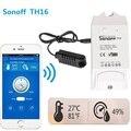 Sonoff Akıllı ev TH16 Anahtarı testi Sıcaklık Nem Sensörü Akıllı otomasyon modülü