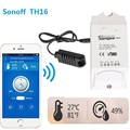 sonoff Smart home TH16 Switch test Temperature Humidity Sensor Intelligent automation module