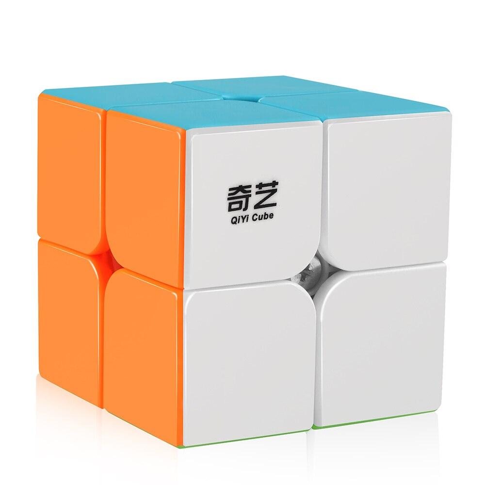 D-FantiX Qiyi Qidi S 2x2 Speed Cube Stickerless 2x2x2 Magic Cube Puzzle Fidget Educational Toys For Children KidsD-FantiX Qiyi Qidi S 2x2 Speed Cube Stickerless 2x2x2 Magic Cube Puzzle Fidget Educational Toys For Children Kids