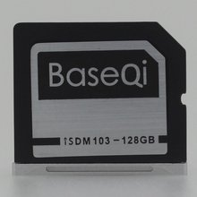 Baseqi Ninja Stealth Drive 128GB Aluminum Minidrive for Macbook Air 13inch