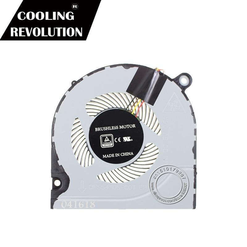 New original cpu cooling fan for Acer Predator Helios 300 G3-571 FCN  DFS541105FC0T FJN1 CPU FAN