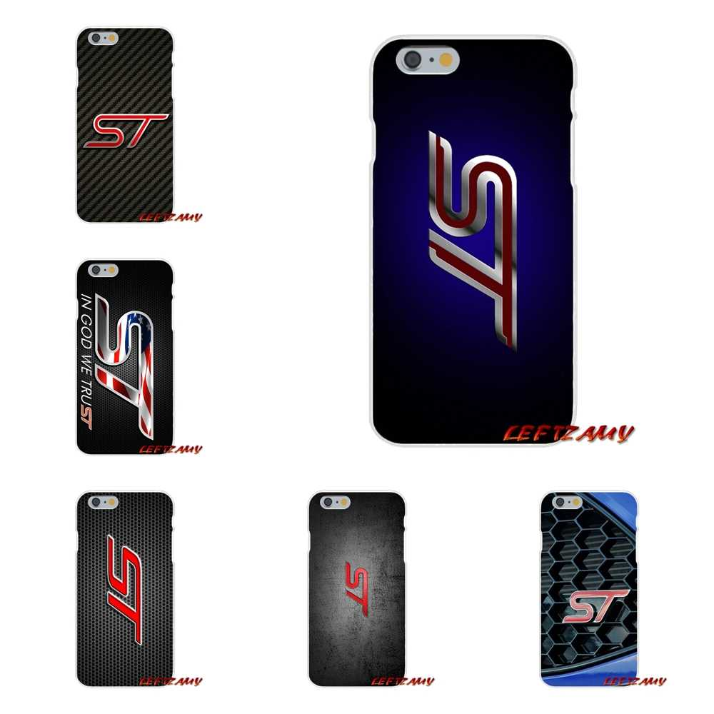 Ford ST Logo Accessories Phone Shell Covers For Huawei P Smart Mate Y6 Pro P8 P9 P10 Nova P20 Lite Pro Mini 2017