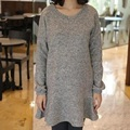 New autumn/winter women's sweater falbaba design dresses maternity sweater pregnancy clothing coat dresses 16954