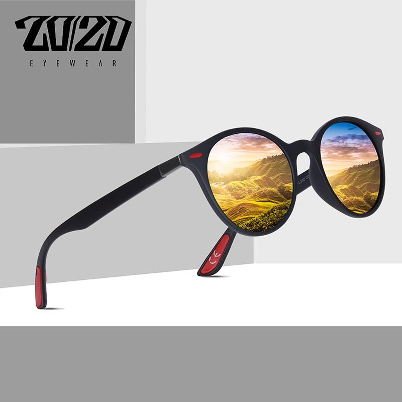 1d7fea985ff49 20 20 de Design Da Marca Óculos De Sol Dos Homens Polarizados Quadro Oval  Óculos de Pesca Óculos de Sol Dos Homens Das Mulheres Unisex Do Vintage  Oculos de ...