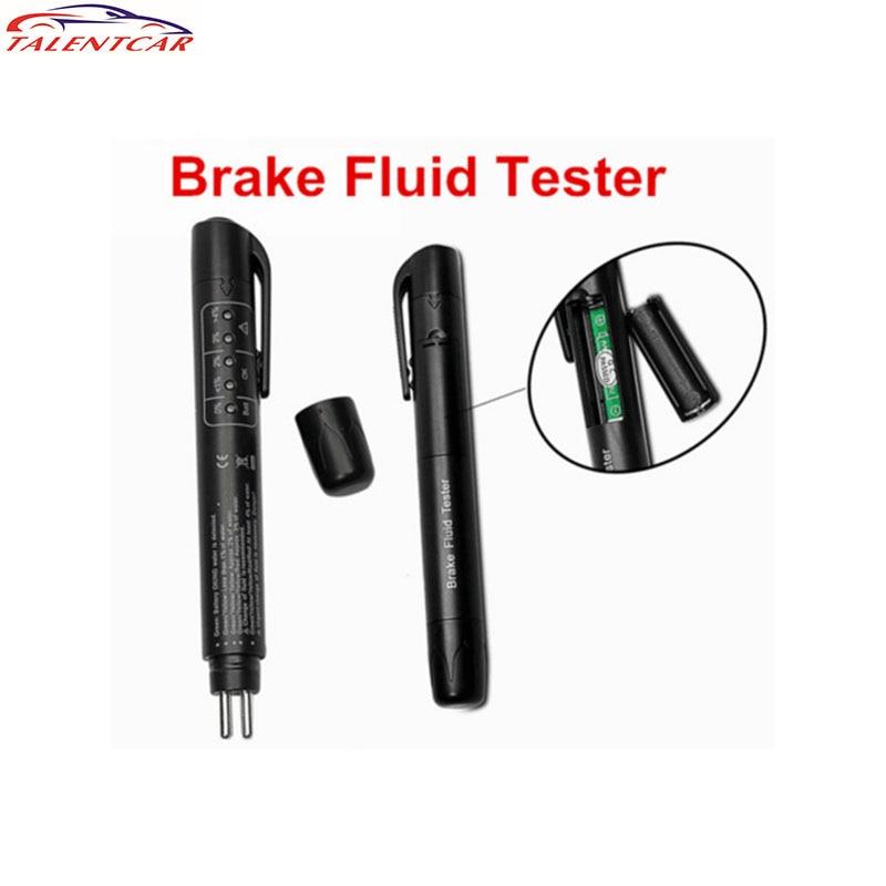 Brand new Brake Fluid Liquid Tester Pen With 5 LED Car