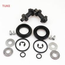 TUKE 2 Set Rear Brake Calipers Motor Bearing Screw Kit For VW PASSAT B6 B7 TIGUAN SHARAN A4 A5 Sportback A6 Q3 Q5 Coupe 32326315