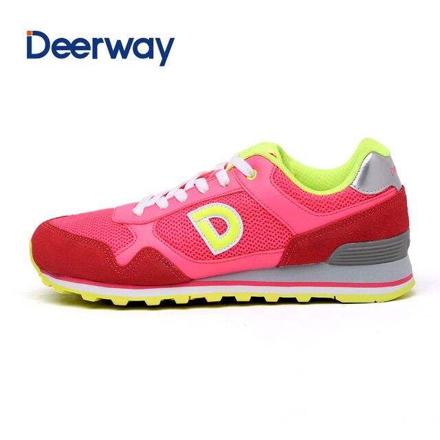 Лидер продаж 2016 года реальные хард Средний (б, м) lifestyle вппн Deerway бренд Для женщин кроссовки Прогулки Eur Размер 35–40 Бесплатная доставка