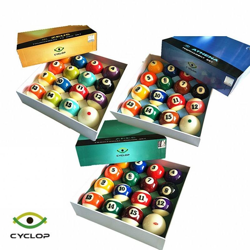 billiard ball set Cyclop Billiards Balls 2 1 4 Tournament 9 Ball American pool balls Resin