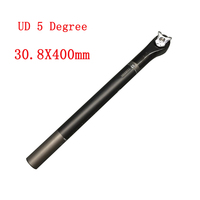 UD 3K 4 Types Bicycle Full Carbon Seatpost Cycling Seat Tube Round Head Seatposts Toseek 2018