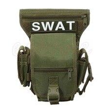 Outdoor Travel Military Shoulder Waist Fanny Pack Drop Leg Thigh Messenger Bag