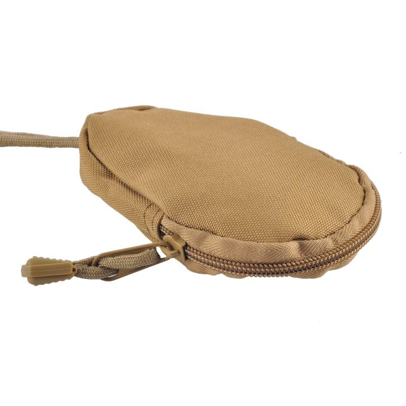 Daddy Chen Mini Bag Unisex Unique Design Money Card Key Wallets Pouch Military Purse Bag Pocket Chains Case Holder Oxford fabric