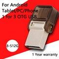 Pen Drive Otg Usb Flash Drive de 16 GB Pen Drives 32 GB Micro vpendrive teléfono inteligente micro usb otg flash drive 64 gb 128 gb 512 gb 2.0