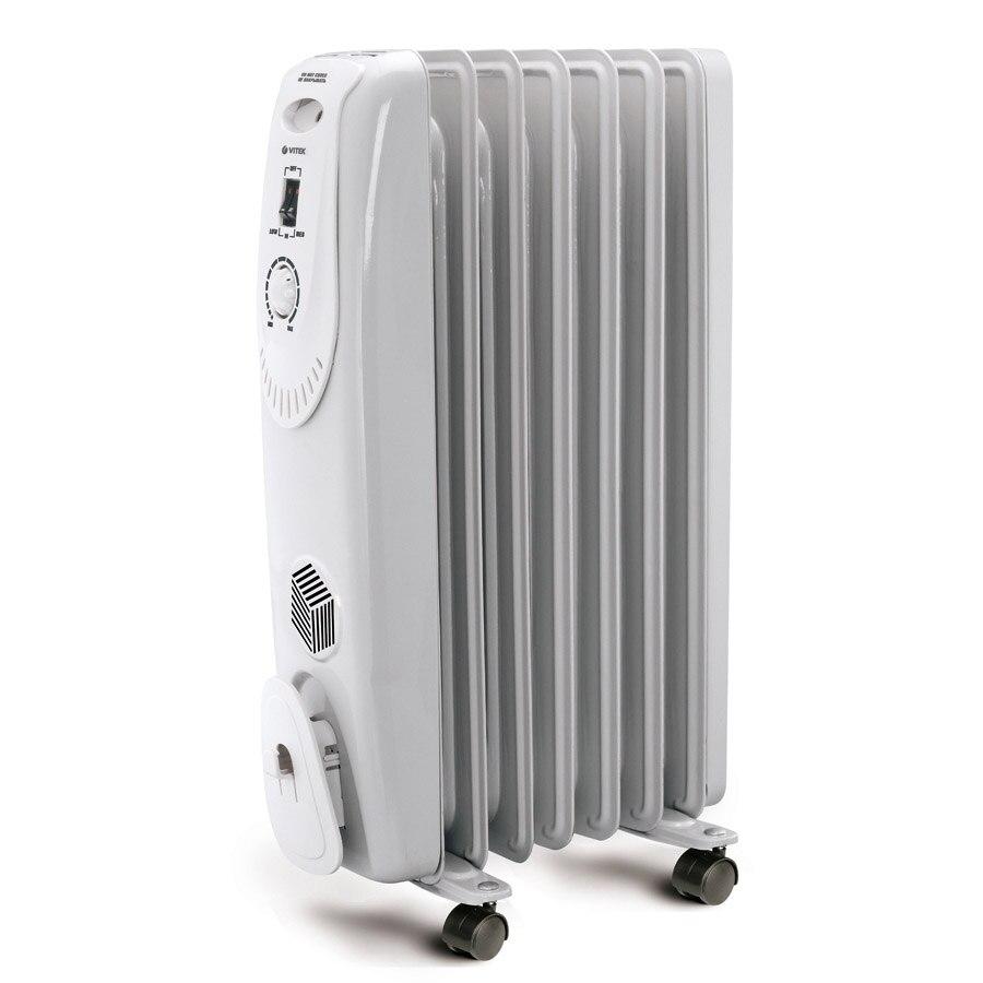 Oil radiator VITEK VT-1704 (W) цена 2017