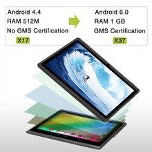 IRulu expro X3 7 »1024*600 IPS Планшеты Android 6.0 1 г/16 г 4 ядра Планшеты PC двойной cam Bluetooth, Wi-Fi с gms Сертификация