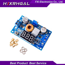 1pcs 5A 75W XL4015 DC-DC Adjustable Step-down Module Step Down Modules with Voltmeter new