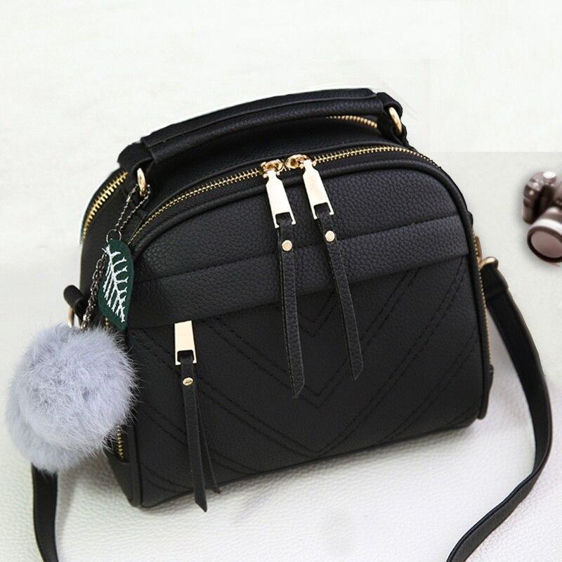 ФОТО Women bags bolsas leather women handbag brief handbag fashion shoulder bag cross body small bags tassel bags handbags women