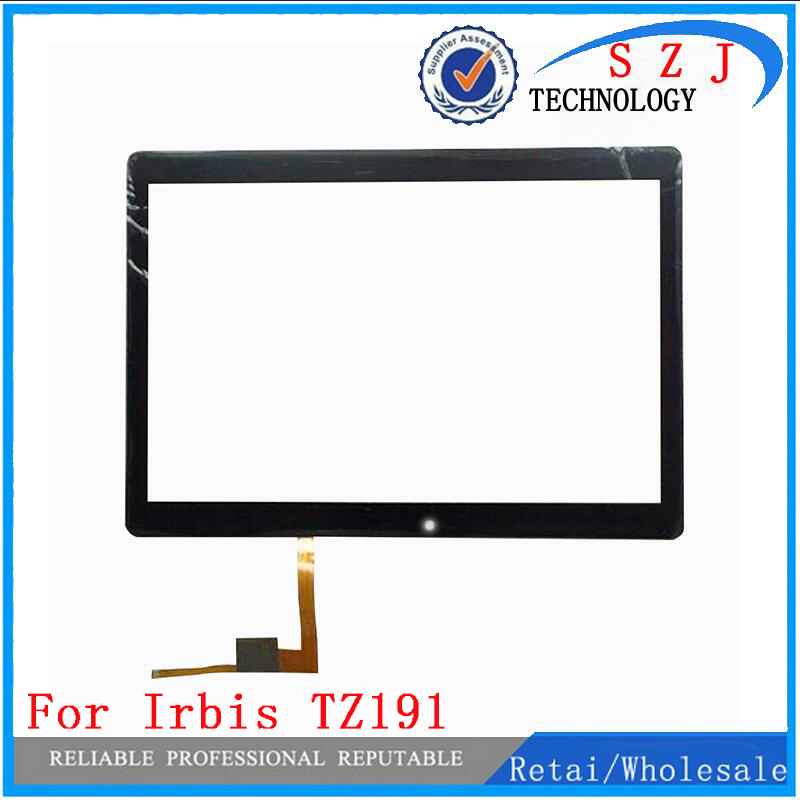 New 10.1'' inch touch screen For Irbis TZ191 TZ 191 TZ191B Tablet Touch panel Digitizer Glass Sensor Replacement Free Shipping original new 8 inch bq 8004g tablet touch screen digitizer glass touch panel sensor replacement free shipping