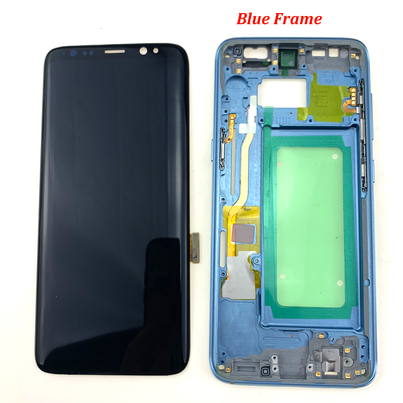 For-S8-plus-G950-lcd-with-frame-all-19