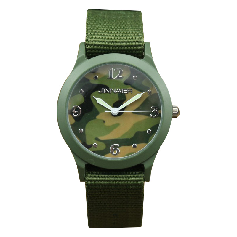 Women Men Casual Nylon Strap Mini Camouflage Dial Face Army Children Kids Wristwatches For Boys Gilrs Dress Gift Sports Watches