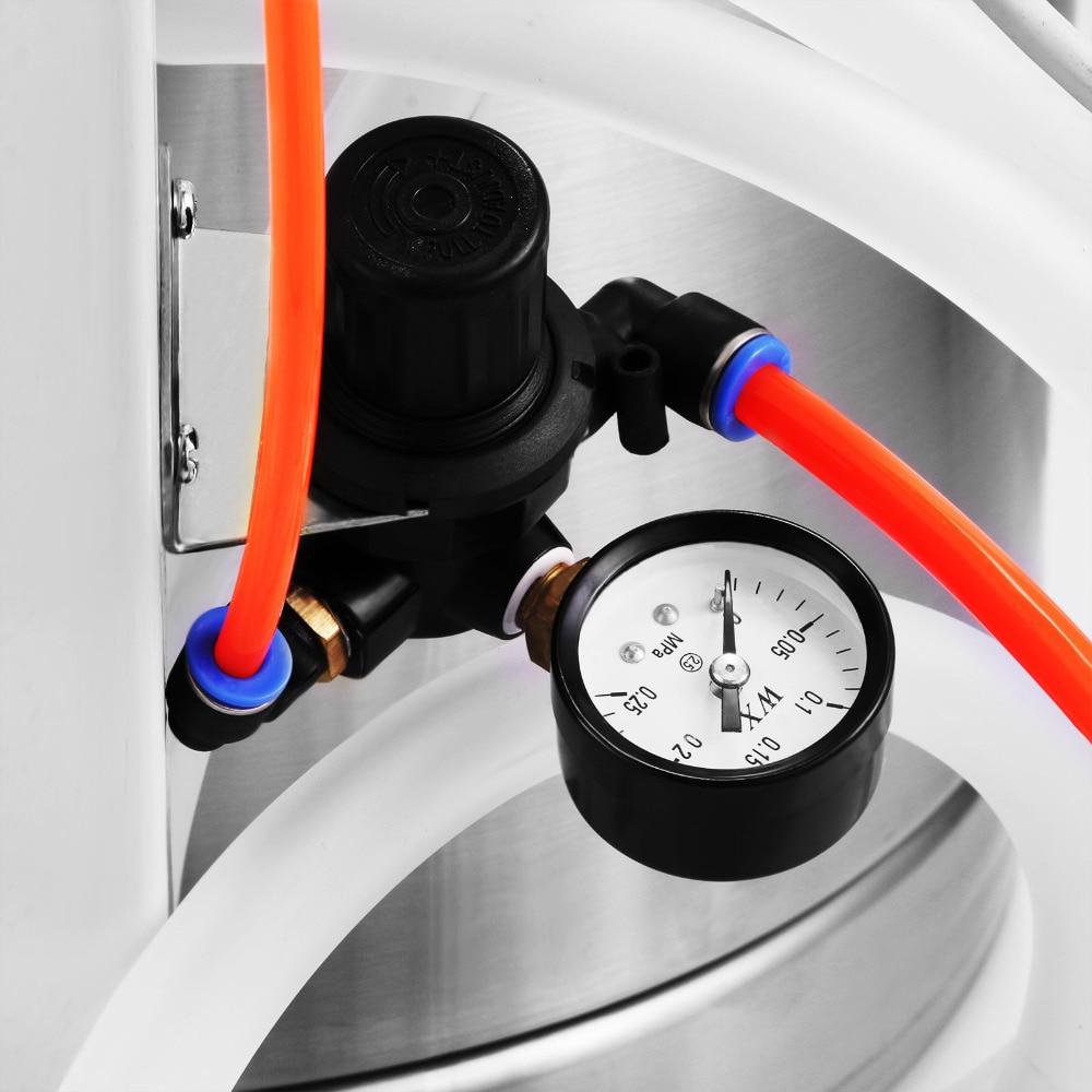 Image 4 - 450g/min WX 101 Powder Coating Machine 45L Capacity Electrostatic Powder Coating Machine Spraying Gun PaintFood Processor Parts   -