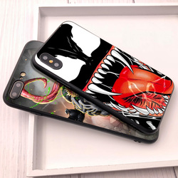 Venom For Fundas iPhone XS Max Shell Cover For Case iPhone 8 Plus XR Coque for Case iPhone 5 5S 6 7 8 Plus SE X XR Phone Cover 2