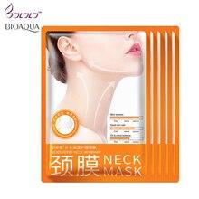 Bioaqua 5pcsNeck Mask Anti wrinkle Whitening Moisturizing Nourishing Firming Neck Skin Care Women beauty health whey proteinCare