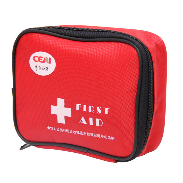 DHL ship CE Emergency bag household outdoor first aid bag outdoor safety security First aid kits