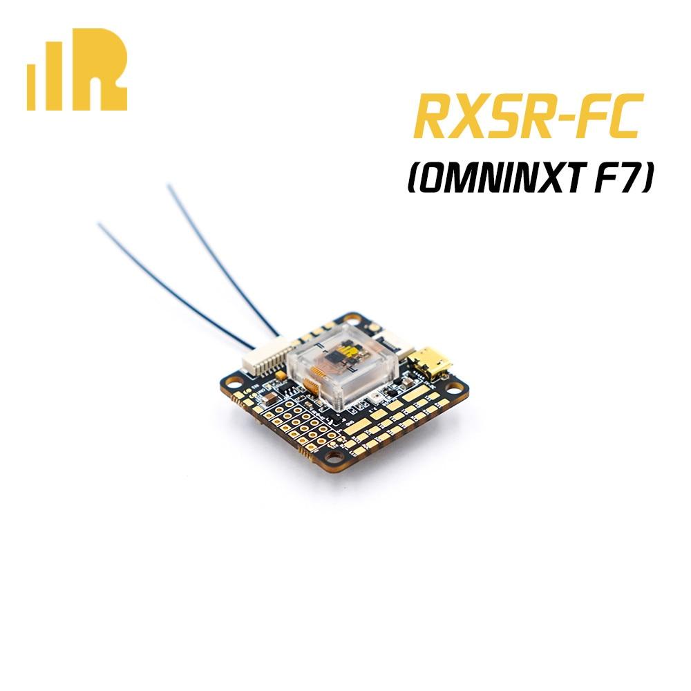 FrSky RXSR-FC OMNINXT F7 FPV Drone FC contrôleur de vol avec R-XSR/R9MM récepteur MPU6000 ICM20608 OSD pour Drone RC