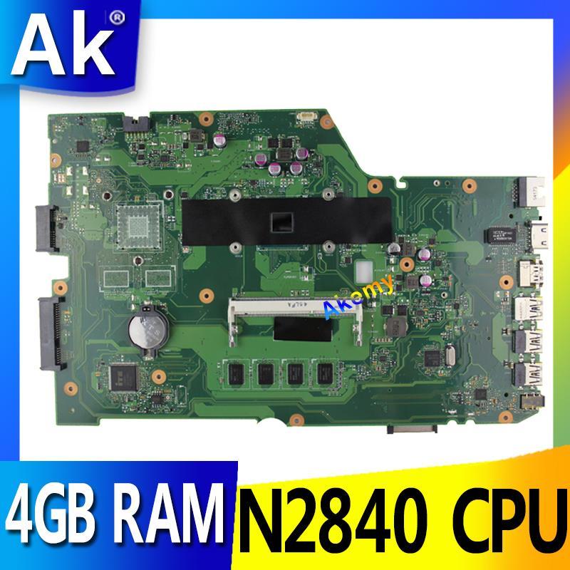 AK X751MA With N2840 CPU 4GB RAM 90NB0610 R00150 mainboard REV2 0 For ASUS X751MA X751M