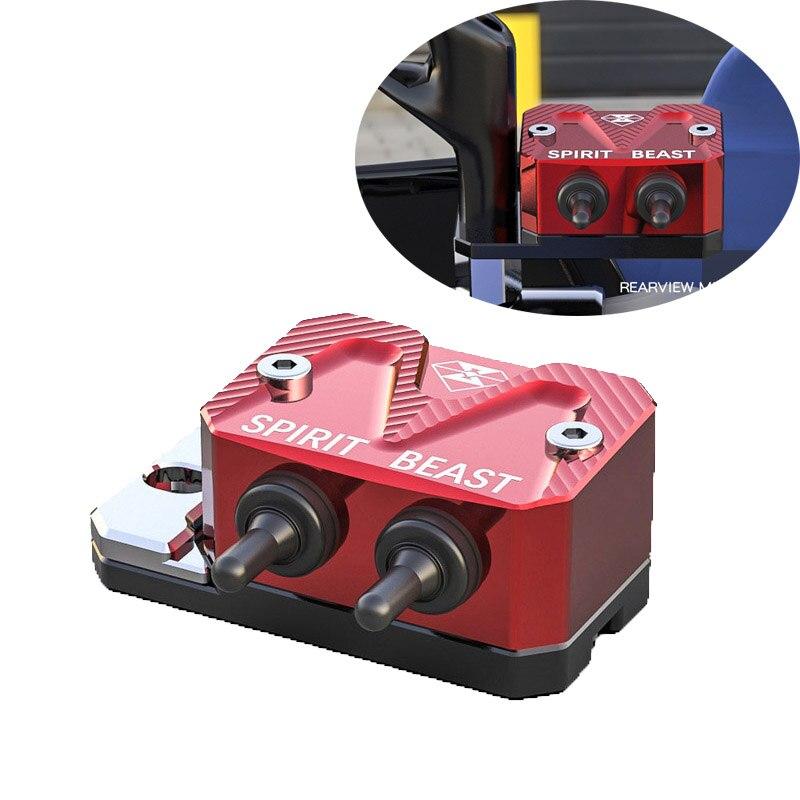 1 PCS Multi-Funktion Motorrad Wasserdichte Schalter Scheinwerfer Schalter Pumpe Abdeckung für CB190 150NK EN125