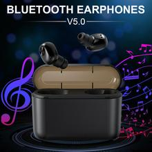 2019  BL1 TWS 5.0 Stereo Invisible Wireless Bluetooth Earphone With 1200/2200mAh Charging Box Dual Ears In-Ear Earbuds