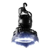 Outdoor Hiking Picnic BBQ Handheld Emergency Lamp Fan Multifunctional 18 LED Camping Tent Fan Lamp 2 In 1 + Hook