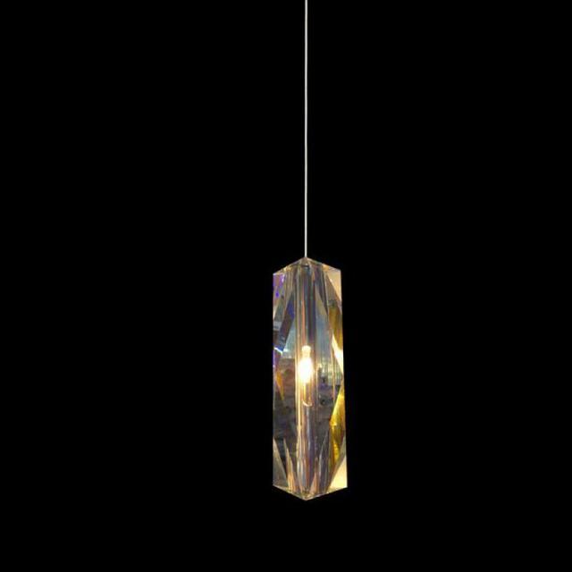 1 pcs Bar Led Fixture crystal pendant light dining room Kitchen indoor crystal lighting Modern G4 led lustre de cristal Prism