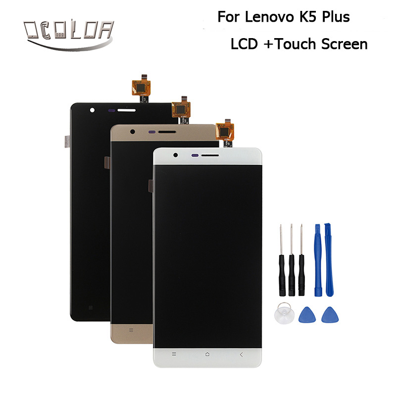 imágenes para Para Lenovo K5 Además A6020A46 LCD Pantalla Perfecta Pantalla de Reparación de Piezas para Lenovo K5 Además Del Móvil de Accesorios Digital Con Herramientas
