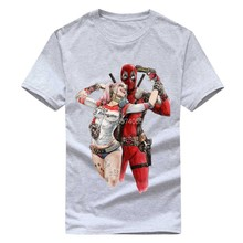 Camiseta Deadpool Marvel Super Hero Thanos Dead Pool Do Unicórnio Do Arco Camisa Engraçada de T Pokemon Game of Thrones Tshirts Dos Homens Novos(China)